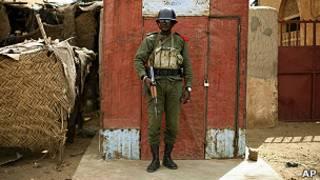 Солдат армии Мали