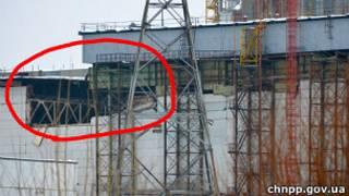 Укриття на Чорнобилі