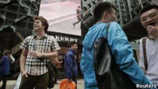 中國一向是巴寶莉品牌的大市場