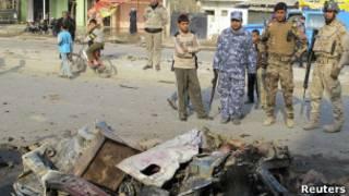 اعمال عنف في العراق