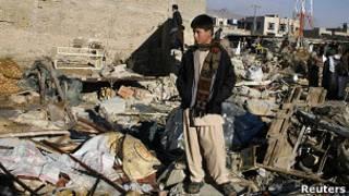 На месте взрыва в Кветте