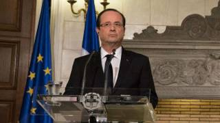 Shugaba François Hollande na Faransa