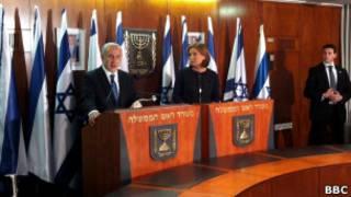Ципи Ливни и Биньямин Нетаньяху