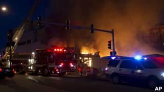 Пожар в Канзас-сити