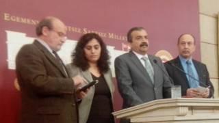 HDK'li sosyalist milletvekilleri Ertuğrul Kürkçü, Sebahat Tuncel, Sırrı Süreyya Önder ve Levent Tüzel