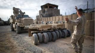 Một căn cứ của liên quân Nato tại Afghanistan