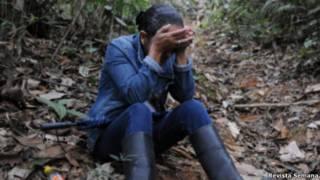 Víctima del conflicto en Colombia