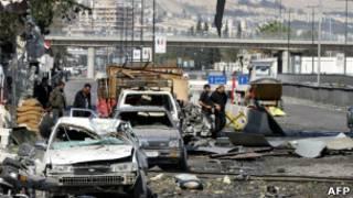 Suriye başkenti Şam'da çatışmalar sürüyor