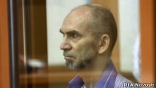 Леонид Хабаров на скамье подсудимых