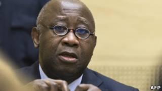 Laurent Gbagbo apfungiwe ICC ashaka kuba umukuru w'umugambwe wiwe.