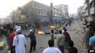 Протесты в Бангладеш