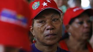 سيدة من فنزويلا