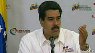 Телеобращение Николаса Мадуро