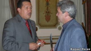 El corresponsal de BBC Mundo, Fernando Ravsberg, conoce a Hugo Chávez