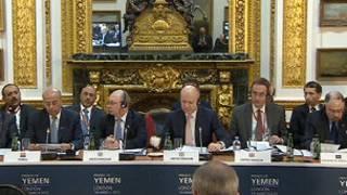 اجتماع أصدقاء اليمن في لندن