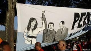 Chávez y Perón