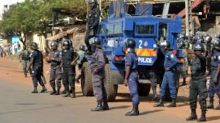 قوات أمنية في كوناكري