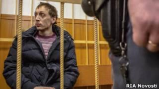 Дмитриченко в зале суда