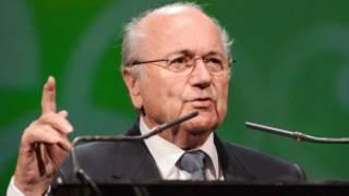 Shugaban Fifa Sepp Blatter