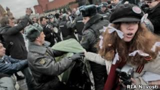 """Акция """"Белая площадь"""". 1 апреля 2012 года"""