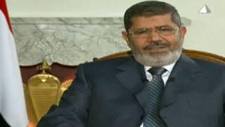 الرئيس مرسي في خطابه التلفزيوني