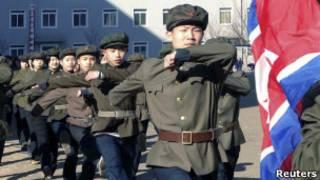 Северокорейские добровольцы