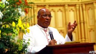 Cardeal Napier (Foto AFP)