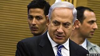 O primeiro-ministro de Israel, Binyamin Netanyahu