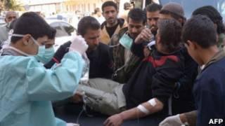 جريح في سوريا
