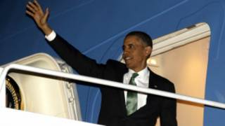 Ông Obama chuẩn bị bay đi Trung Đông