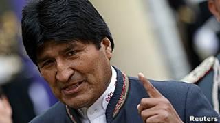 اوو مورالس، رئیس جمهوری بولیوی