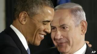 Обама и Нетанияху