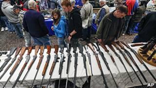 Pistolas en EE.UU.