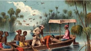 Livingstone en uno de sus viajes