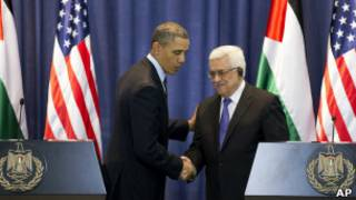 Махмуд Аббас и Барак Обама