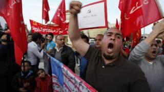 احتجاجات في الأردن على زيارة أوباما