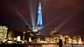Londra'daki 'Shard' binası
