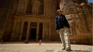 Барак Обама посетил Петру