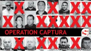"""Foto de la """"operación captura"""", en 2009"""