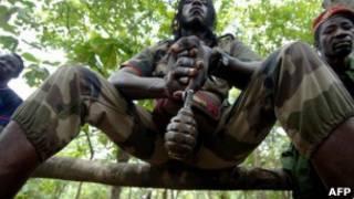 متمردون في جمهورية أفريقيا الوسطى