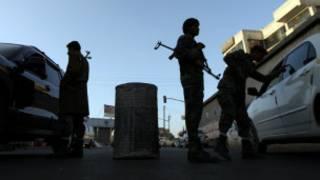 عناصر امنية في صنعاء