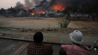خشونت های برمه