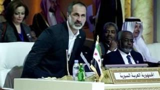 Khatib ngồi vào ghế của Syria