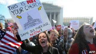 Сторонники однополых браков