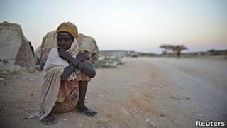 Mujer desplazada somalí