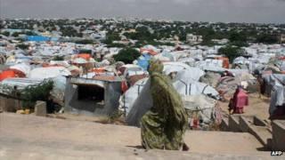 اردوگاه آوارگان در موگادیشو