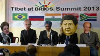 Protestos nos Brics. AP