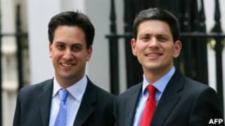Ed ve David Miliband