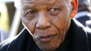 Nelson Mandela. AP