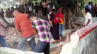 srilankan buddhist attack